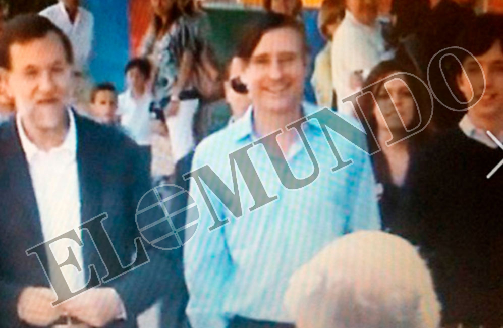 """Rajoy y el concejal Alvaro Ballarín, para quien """"el pequeño Nicolás..."""