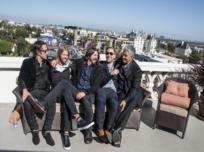 Los cinco Foo Fighters.