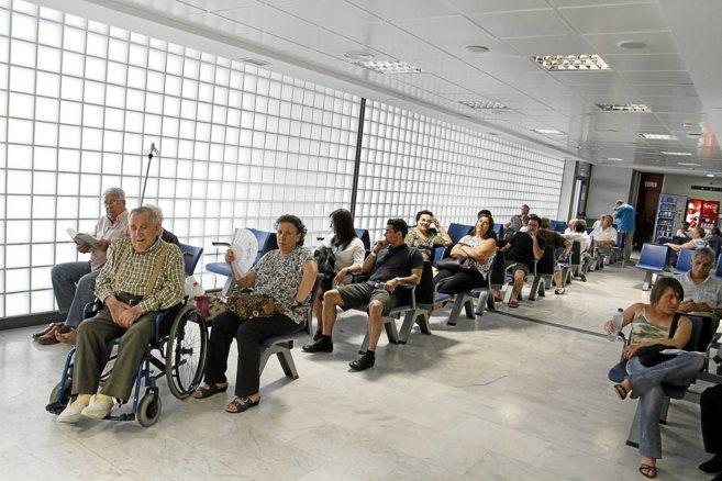 Imagen de la sala de espera de Urgencias de Son Espases.