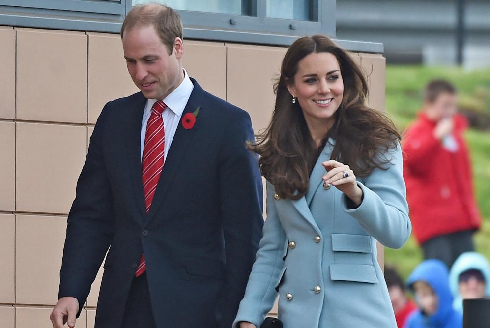 Catalina, duquesa de Cambridge y el Príncipe William fueron vistos en...