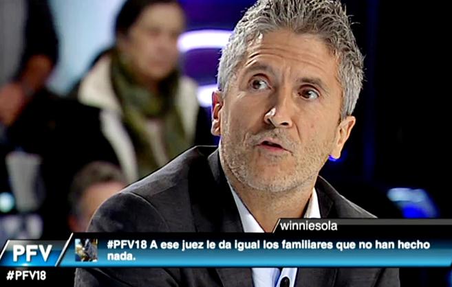 Fernando Grande-Marlaska, presidente de la Sala de lo Penal de la...