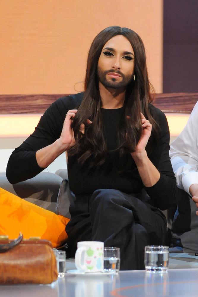 Conchita Wurst invitada al show televisivo de un famoso programa...