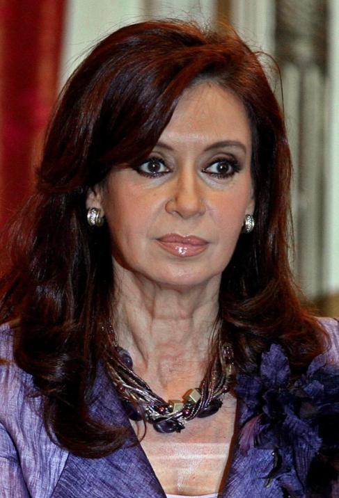 Cristina Fernández de Kirchner, en una fotografía del 30 de octubre.