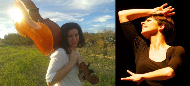 La violonchelista Beatriz González Calderón y la bailaora Leonor...