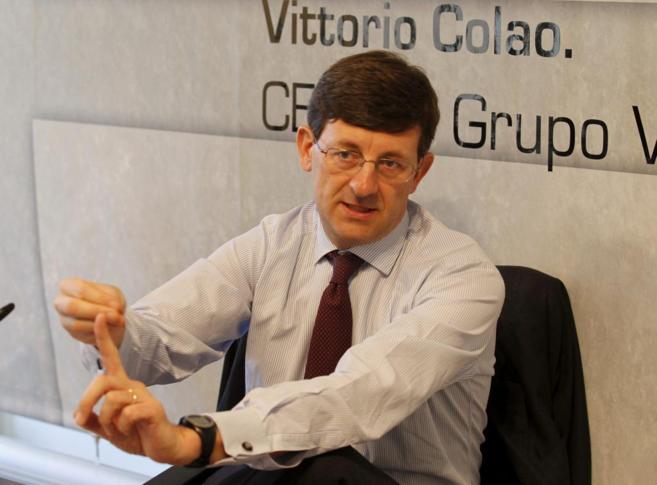Vittorio Colao, Consejero delegado de Vodafone.