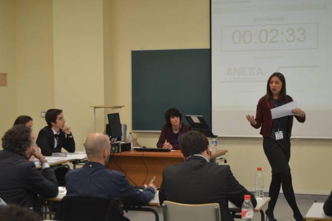 Patricia Muñoz Carrasco, estudiante de 4º de Derecho en la...