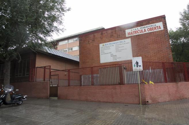 La escuela de L'Hospitalet dirigida por Dolores Agenjo.
