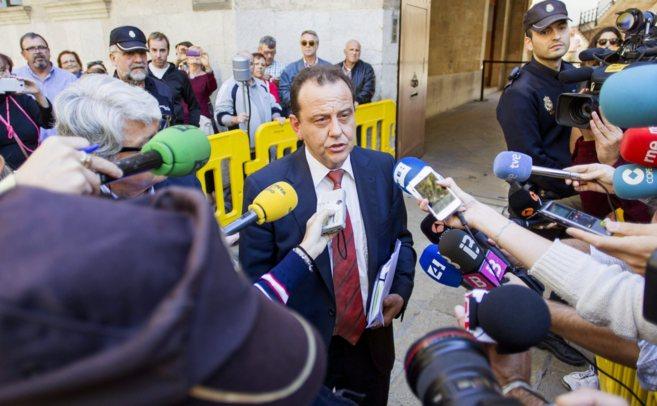 El fiscal Anticorrupción Pedro Horrach, el pasado 7 de noviembre...