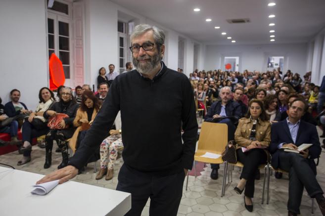 El escritor Muñoz Molina en La Térmica.
