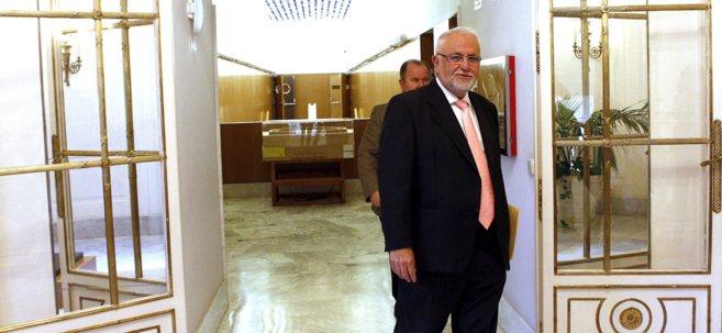 Juan Cotino, el día que se despidió como presidente de las Cortes...