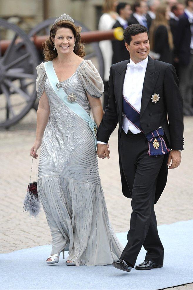 Alexia de Grecia y Carlos Morales, vestidos de gala en la boda de...