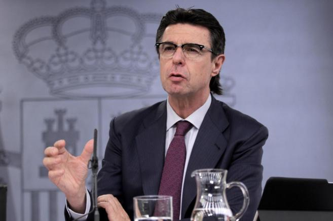 El ministro de Industria, Energía y Turismo, José Manuel Soria,