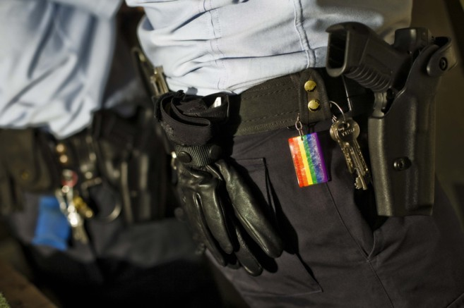 En Gaylespol hay agentes de Policía Local y Nacional, Guardia Civil,...