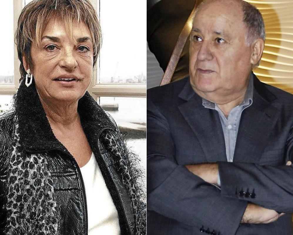 Amancio Ortega y Rosalía Mera. 600 millones. Podrían ocupar el...