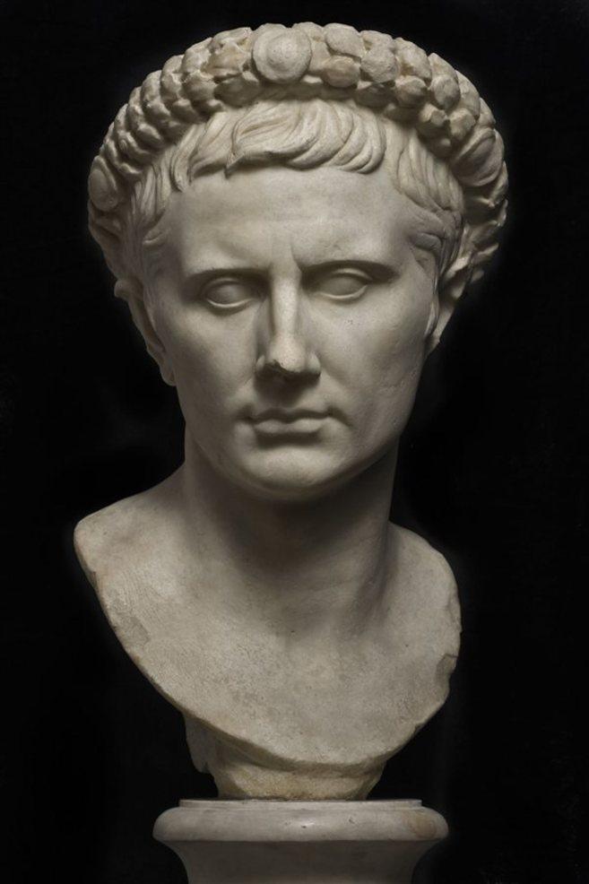 Escultura de César Augusto