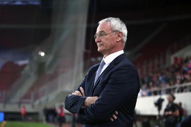 Ranieri, durante el partido ante las Islas Feroe.