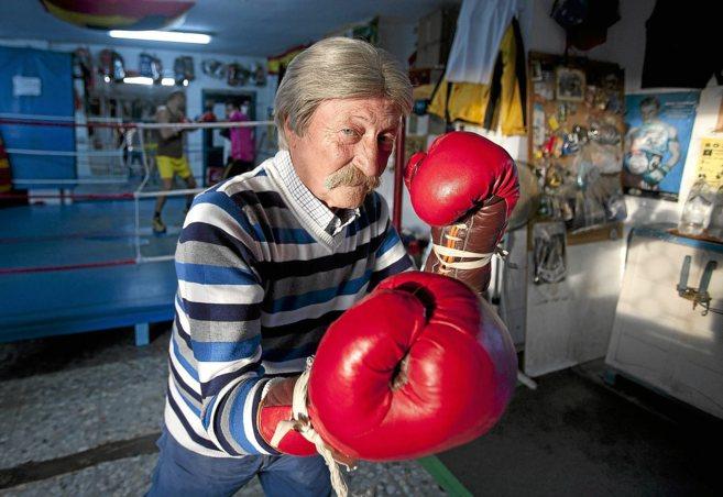 El entrenador de boxeo Antonio Fernández López, 'El...