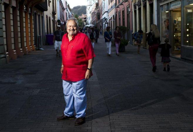 Afonso, en Santa Cruz de Tenerife el pasado octubre