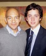 Jaime García-Legaz junto a Francisco Nicolás.