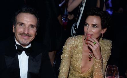 Nieves Álvarez, junto a su marido, el fotógrafo Marco Severini.