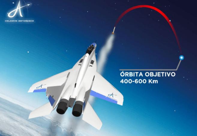 Los nanosatélites irían adosados a cohetes que lanzará un  avión.