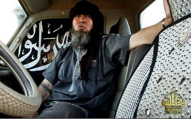 Captura del vídeo, en el que aparece Serge Lazarevic.