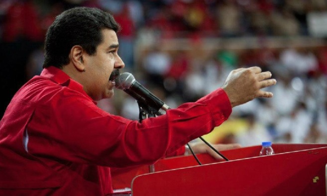 Nicolás Maduro en el acto de clausura del Primer Congreso de...