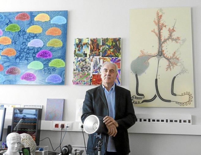 Javier de Felipe, neurobiólogo del Instituto Ramón y Cajal (CSIC).