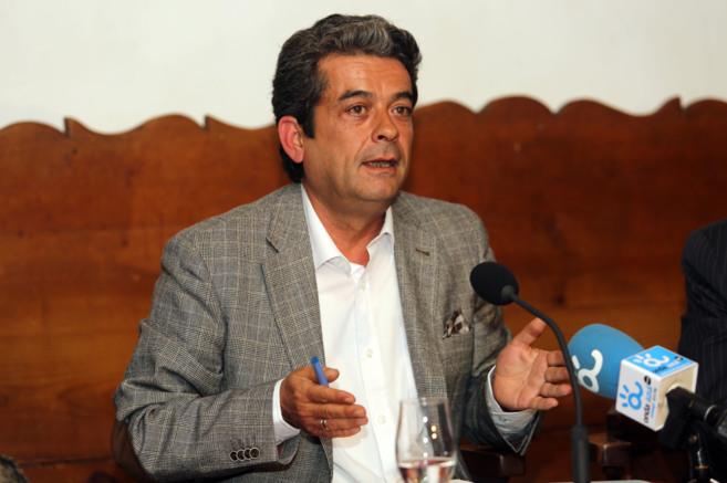 José Antonio Mesa Toré, en su lectura del lunes. ANTONIO PASTOR