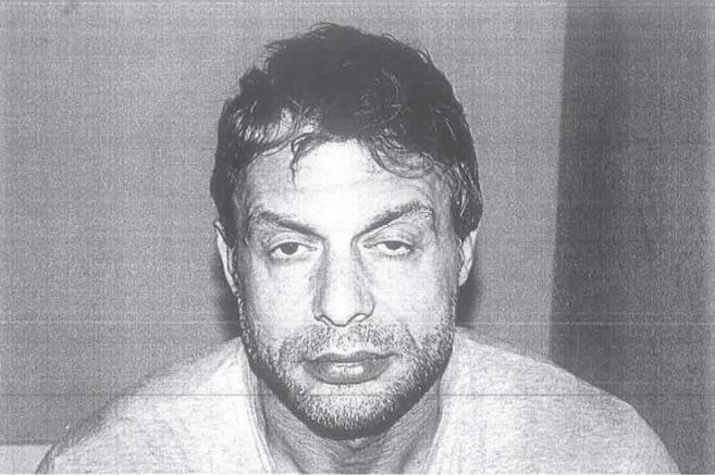 Antonio Ortiz, tras su detención.