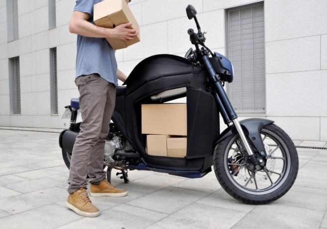 La Gala 279 es una motocicleta pensada para el transporte de...
