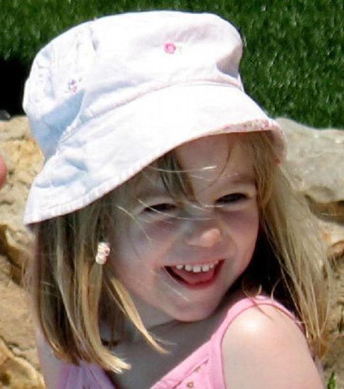 La pequeña desaparecida, en una fotografía divulgada por sus padres...