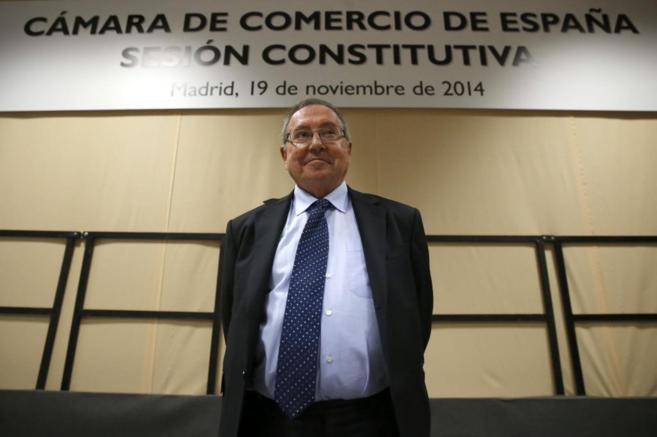 José Luis Bonet, tras ser elegido presidente.