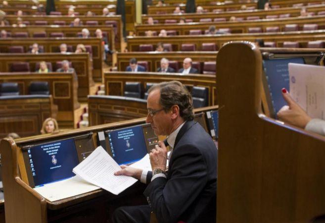 Alfonso Alonso, portavoz del grupo popular en el Congreso de los...
