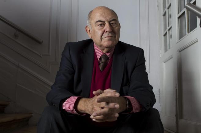 El filósofo y pedagogo José Antonio Marina, durante la entrevista en...