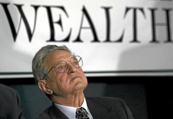 El magnate George Soros.