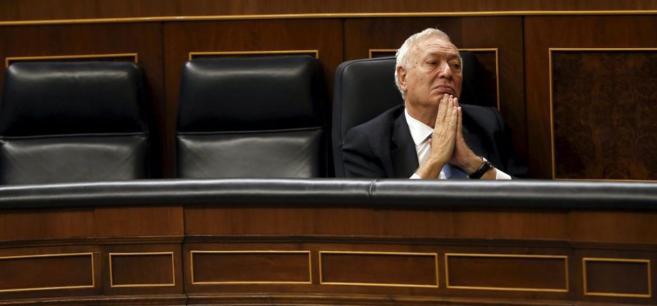 El ministro de Exteriores, José Manuel García-Margallo, el...