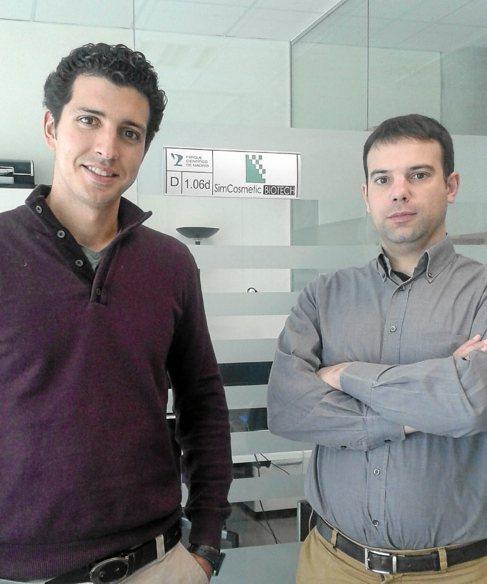 Los socios de la empresa, Eduardo Muñoz y Noel García.