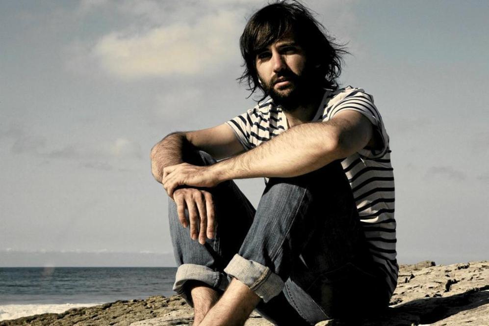 David Otero en una de las imágenes promocionales de su disco...
