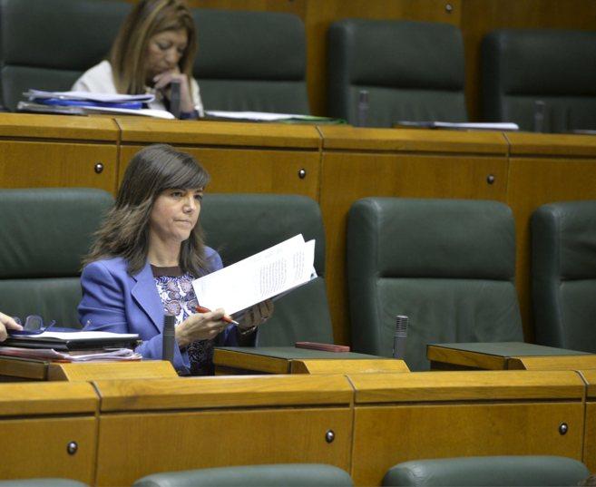 La secretaria general del PP, Nerea Llanos
