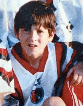 Messi siempre tuvo cara de niño bueno.
