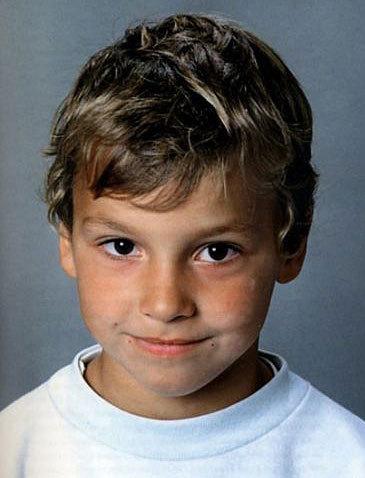 Zlatan Ibrahimovic. Su cara de niño bueno se acabó con la infancia.