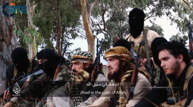 Imagen de propaganda del Estado Islámico.