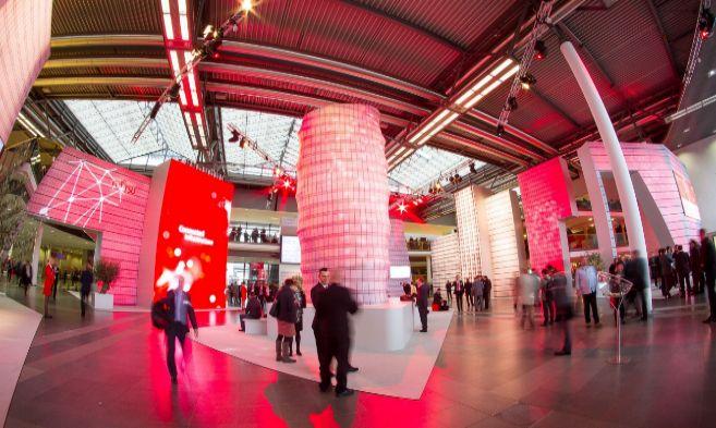 Aspecto del Foro Fujitsu en el centro Internacional de Congresos de...