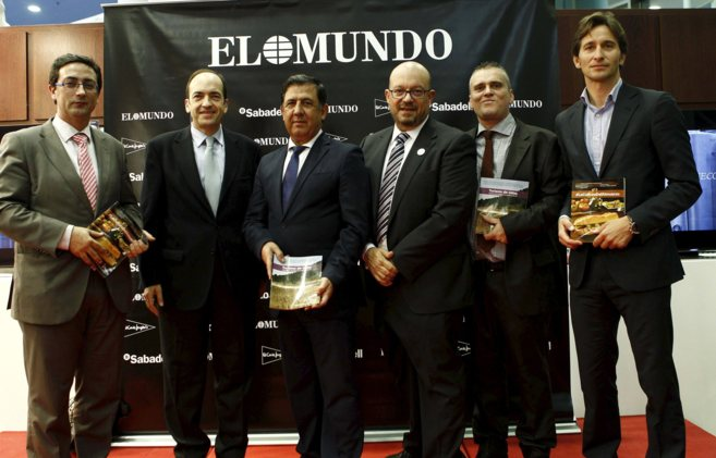 Rafael Navarro, director de EL MUNDO en la Comunidad; Borja Monzó, de...
