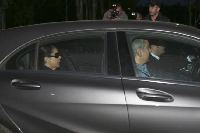 Pantoja y su hermano (de copiloto) salen de Cantora esta mañana.