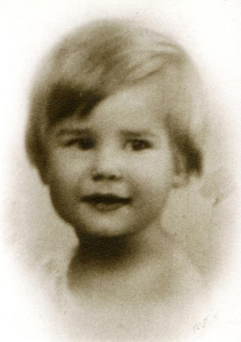 Retrato de la duquesa cuando era niña. Eugenia se le parece.