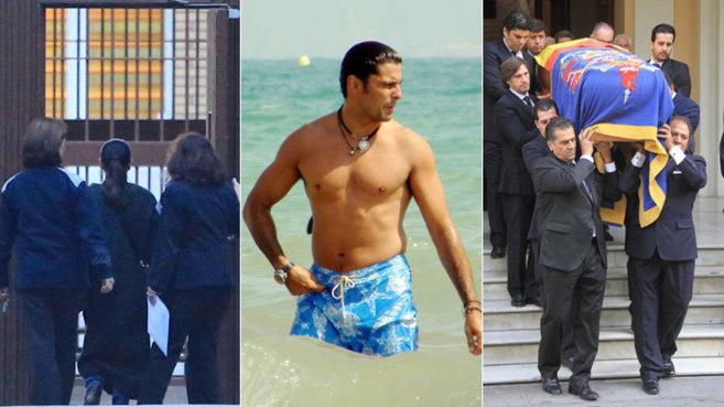 Imágenes de la entrada de Isabel Pantoja en prisión, Fran Rivera en...