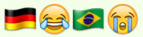 Goleada de Alemania contra Brasil