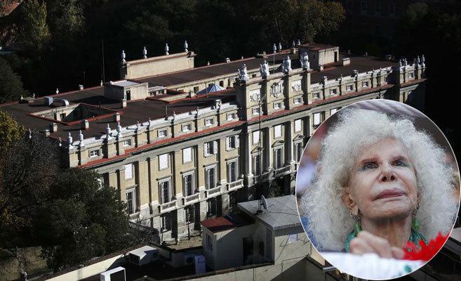 Vista aérea del Palacio de Liria (Madrid), sede de la Fundación Casa...